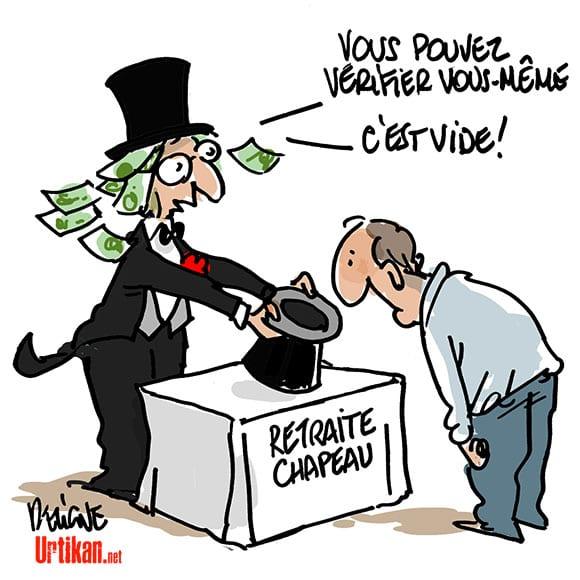 Reforme Des Retraites Chapeaux Rien D Autre Qu Un Effet D Annonce