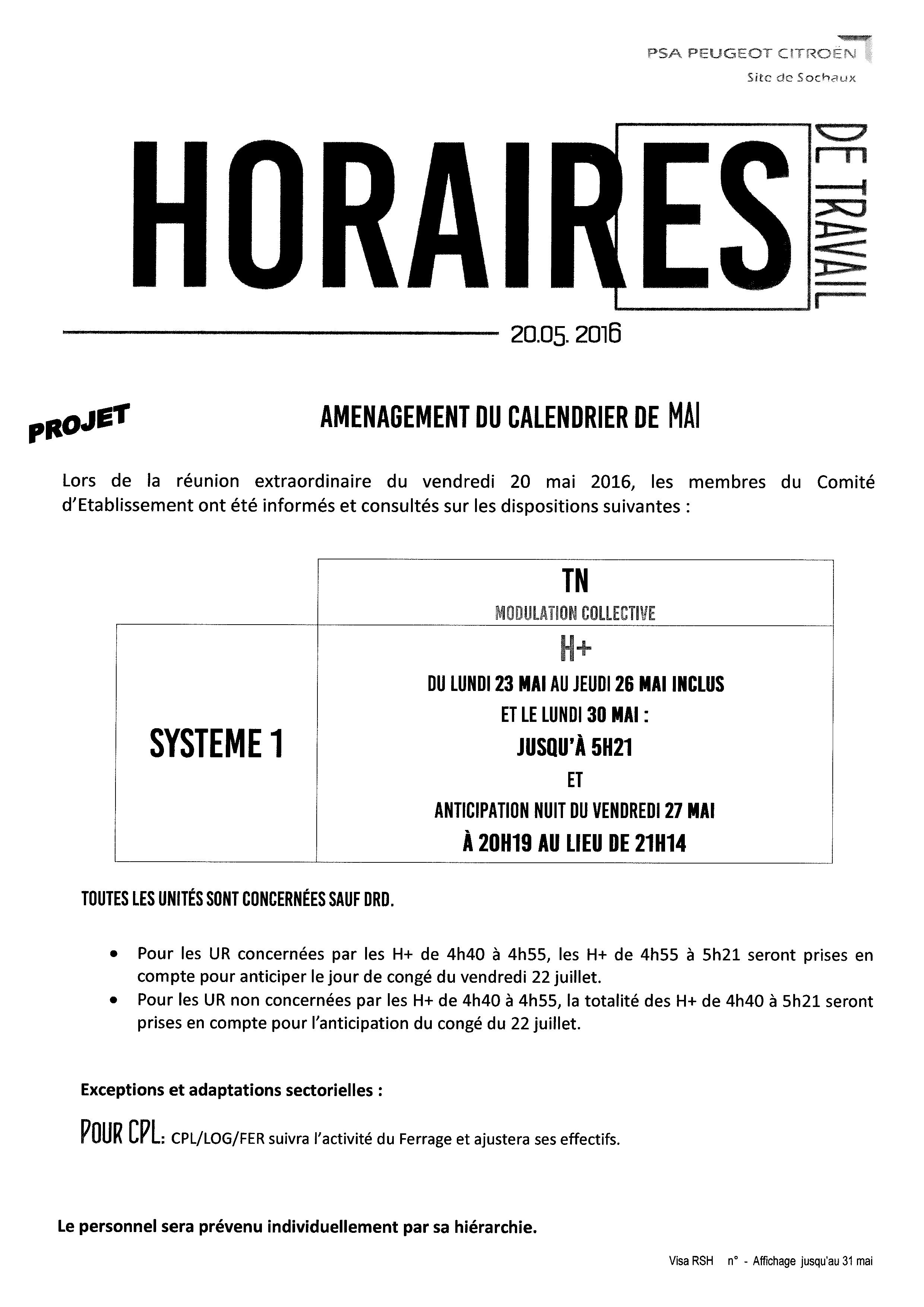 Note horaire 20-05-16