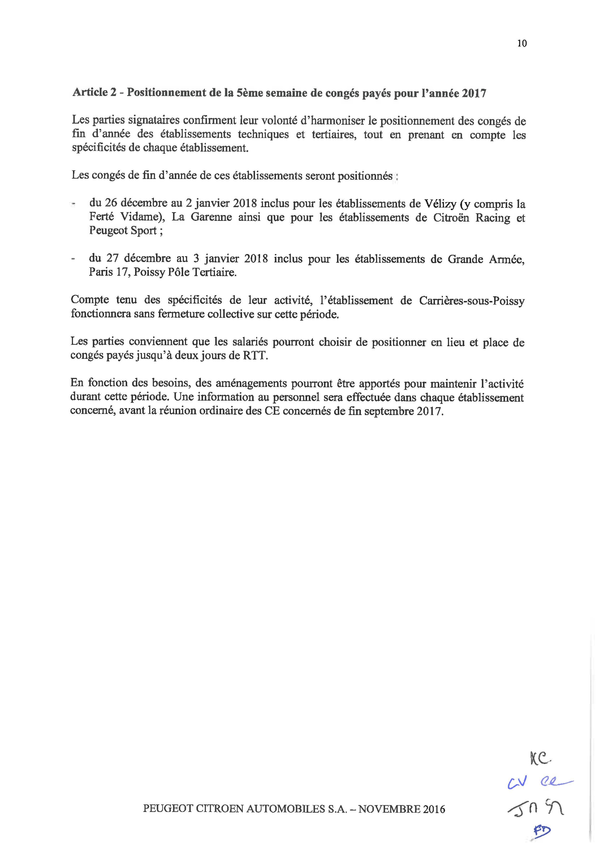 Accord centrale TT Congés_09