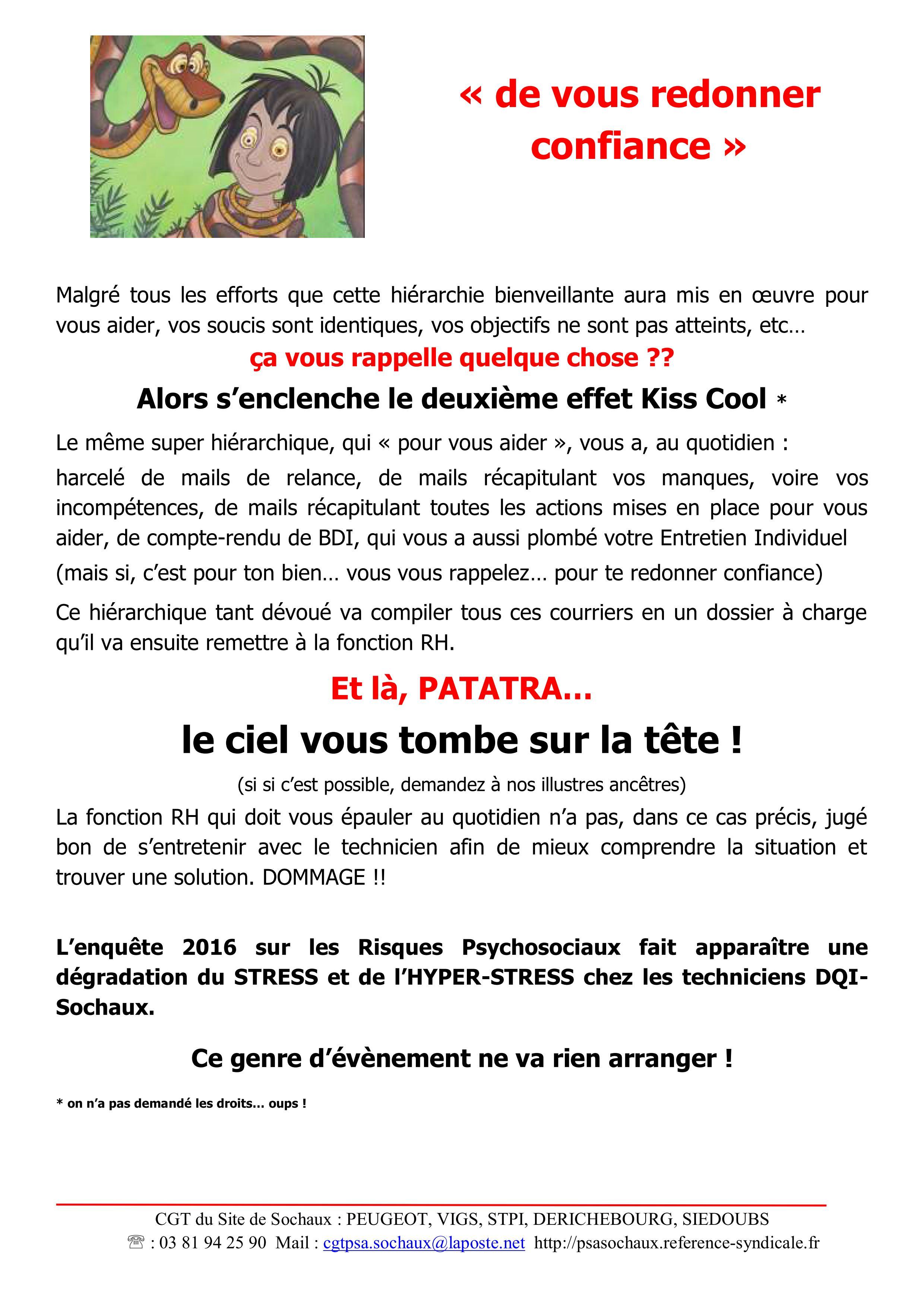 Tract 2017 Secteur Dqi Licenciement Pour Insuffisance De